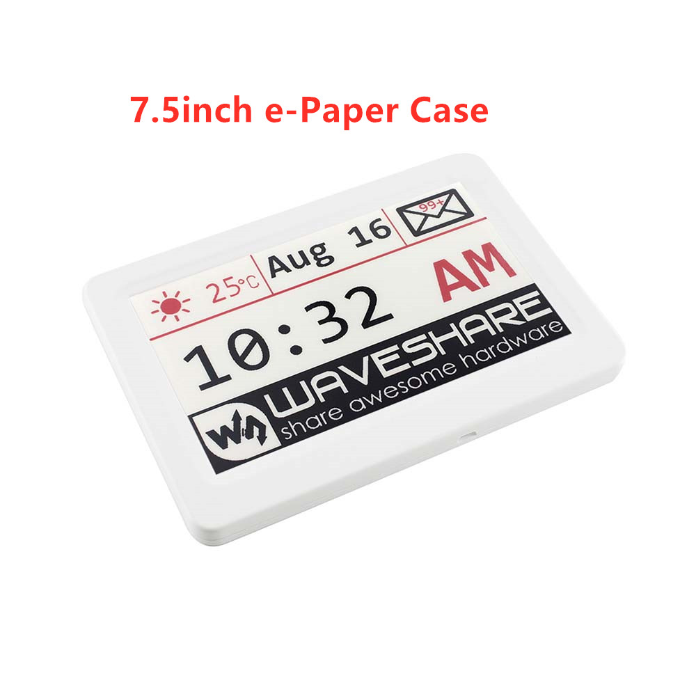 Waveshare 7.5inch E-Paper Protection Case, For E-Paper Raw Panel