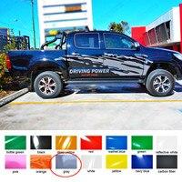 Наклейки для автомобиля 2 шт. mudsling стайлинга автомобилей Боковая дверь задний багажник Графический vinyls наклейки на автомобиль на заказ toyota