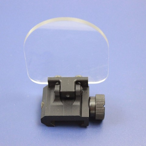 Foldable Airsoft Sight Scope Lens Screen Protector Cover Shield Panel 20mm Rail Mount Lahore