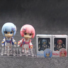 Re:Life In A Different World From Zero Young Period Ram 942a Rem 942b Nendoroid PVC Action Figure 22cm re life in a different world from zero rem ram in arabian night sexy girls anime pvc action figure