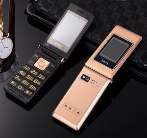 Image 3 - Раскладной телефон с русской клавиатурой, 2,6 дюйма, две sim карты, дешевый телефон для пожилых людей, gsm, китайский телефон раскладушка, сотовые телефоны H mobile MK008