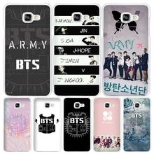 BTS Bangtan Boys Samsung Phone Cases for Galaxy A3 A5 A7 2016 2017 A8 A9