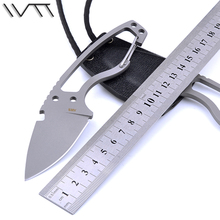 WTT Tactical Hunting Fixed Knife S35VN / CPM S30V Steel Blade Pocket Survival Straight Knives Utility Outdoor Camping EDC Tools