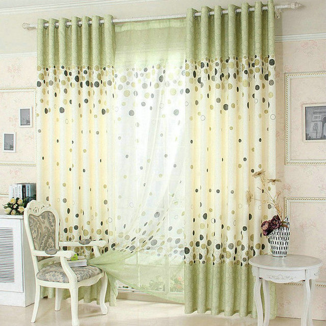 Aliexpress.com : Buy New Arrival Blue /Green /Gray Window Curtain ...