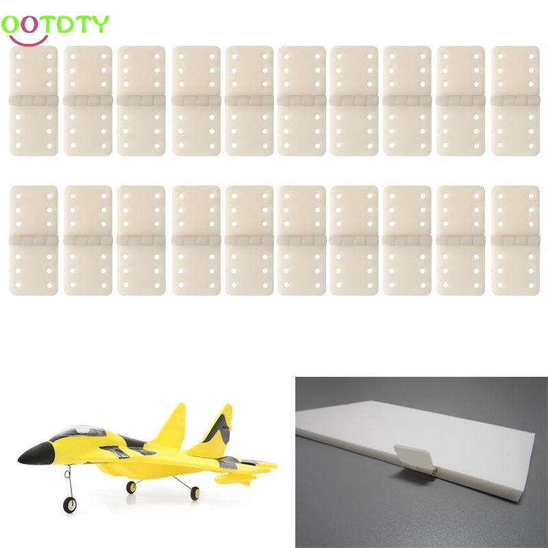 20pcs Hinge Linker Plastic Small for RC Airplane Aircraft Helicopter Quadcopter