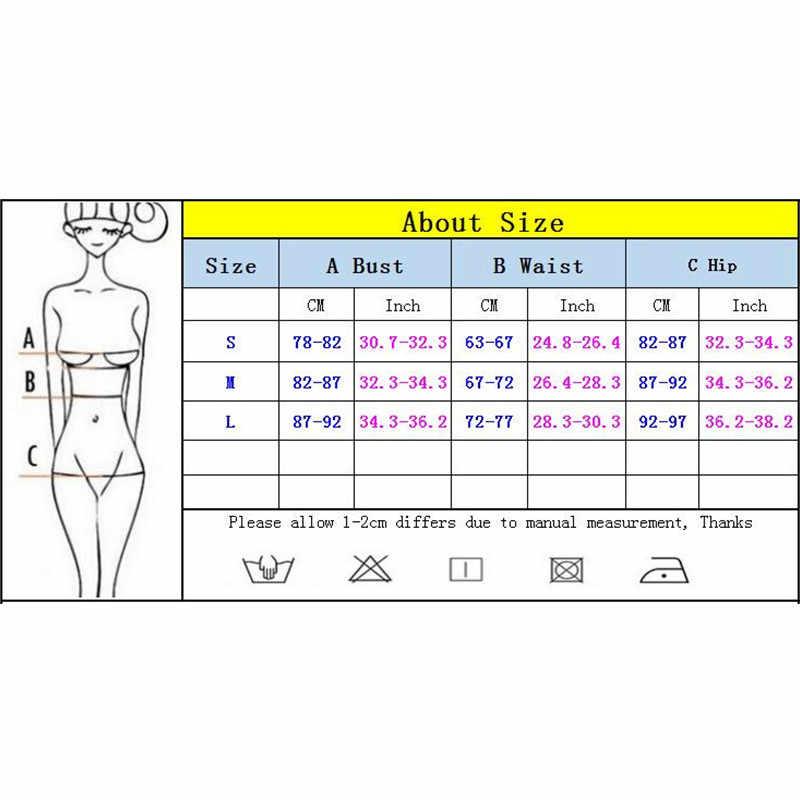 Seksi Macan Tutul Bikini 2019 Micro Bikini Set Push Up Thong Biquini Tinggi Potong Baju Renang Wanita Mini Baju Renang Wanita Baju Renang
