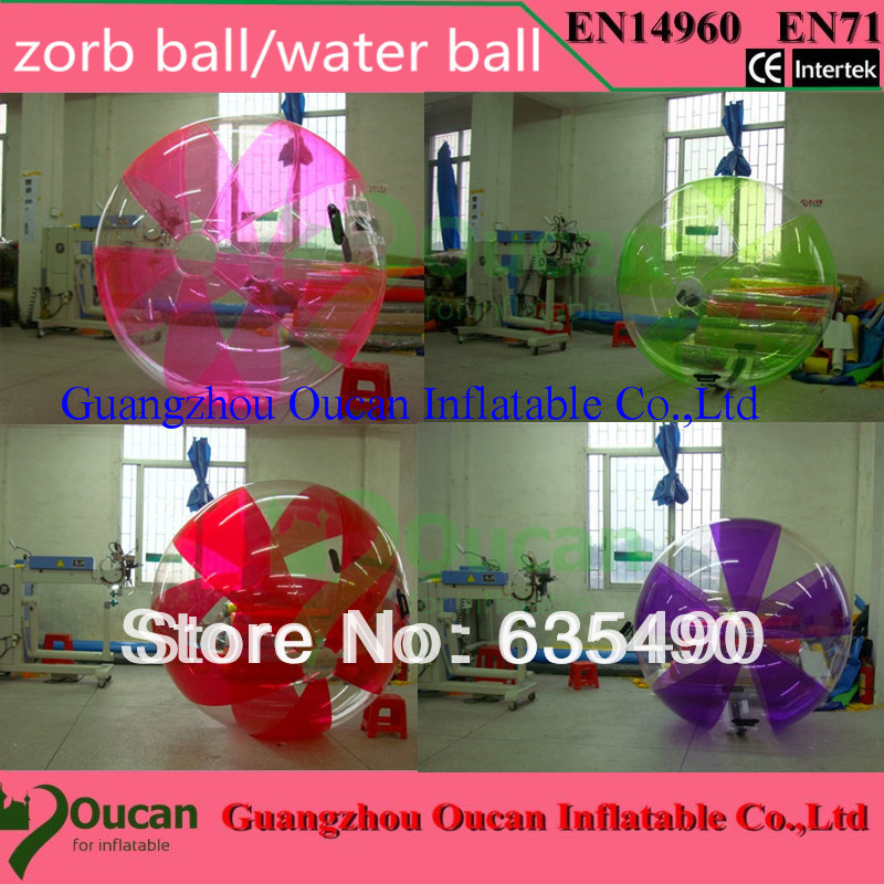 outdoor fun & sports inflatable zorb balls/water walking balls/water ball,CE/UL free shipping free shipping inflatable water walking ball water rolling ball water balloon zorb ball inflatable human hamster plastic ball