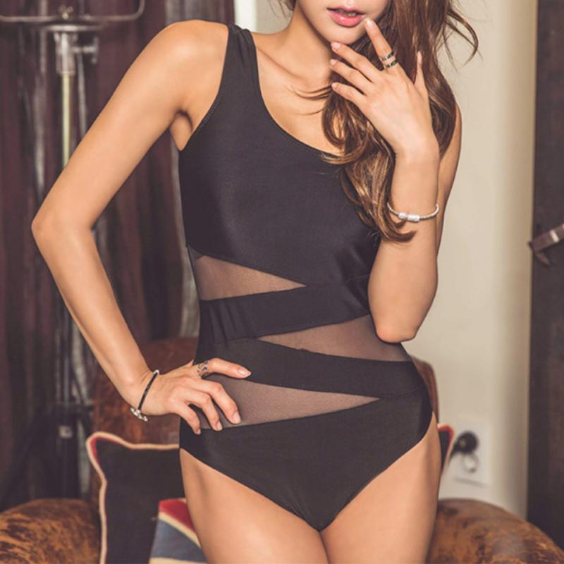 Sexy Women 2018 One Piece Swimsuit Thong Swimwear Bodysuit Leotard One-Piece Bathing Suit High Cut Zipper Swimming Beachwear tequila por favor letter custom swimsuit one piece swimwear bathing suit women sexy bodysuit funny swimsuits jumpsuits rompers