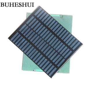 Image 1 - BUHESHUI 1.5W 18V Polycrystalline Solar Panel Module System Solar Cells DIY Charger For 12V Barttery 140*110MM Free Shipping