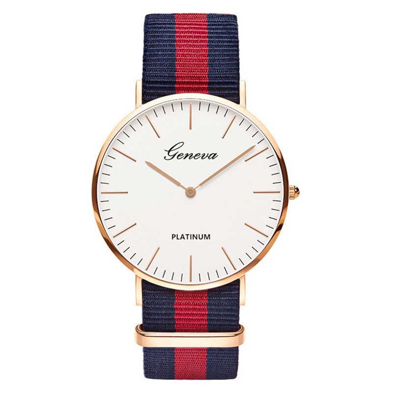 Nylon strap Style Quartz Women Watch Men Watch Fashion Casual Unisex Watches Wrist Watch couple watches for lovers hodinky men