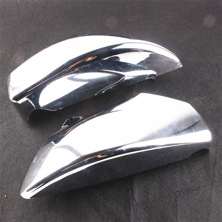 ABS Plastic Side Cover Set For Honda VTX1800 2002-2008 03 04 05 2007 Moto Accessories Left + Right Chrome cover co182 05