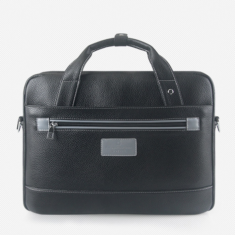 все цены на GOYEAH 13.3 15.4 inch Laptop Briefcase Litchi Grain Imitate Leather Handbag  Business Travel Messenger Bag for Macbook Air Pro онлайн