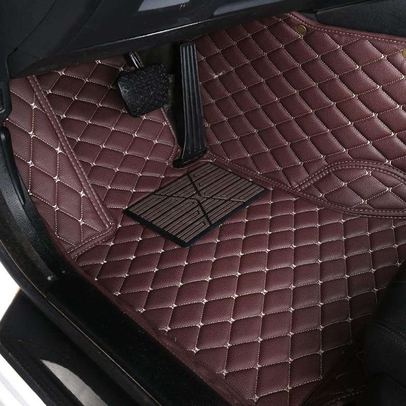 Auto voiture tapis de sol Pied tapis Pour hyundai solaris santa fe tucson 2017 accent 2008 étanche accessoires tapis