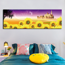 Prints Art Wall Canvas Painting Modern sunflower Posters Pictures Living Room Decoration