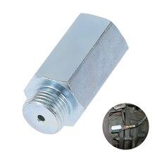 for Lambda / Hydrogen / Decat Car Accessories Stainless Steel M18x1.5 O2 Oxygen Sensor Extender Spacer Joints Converter