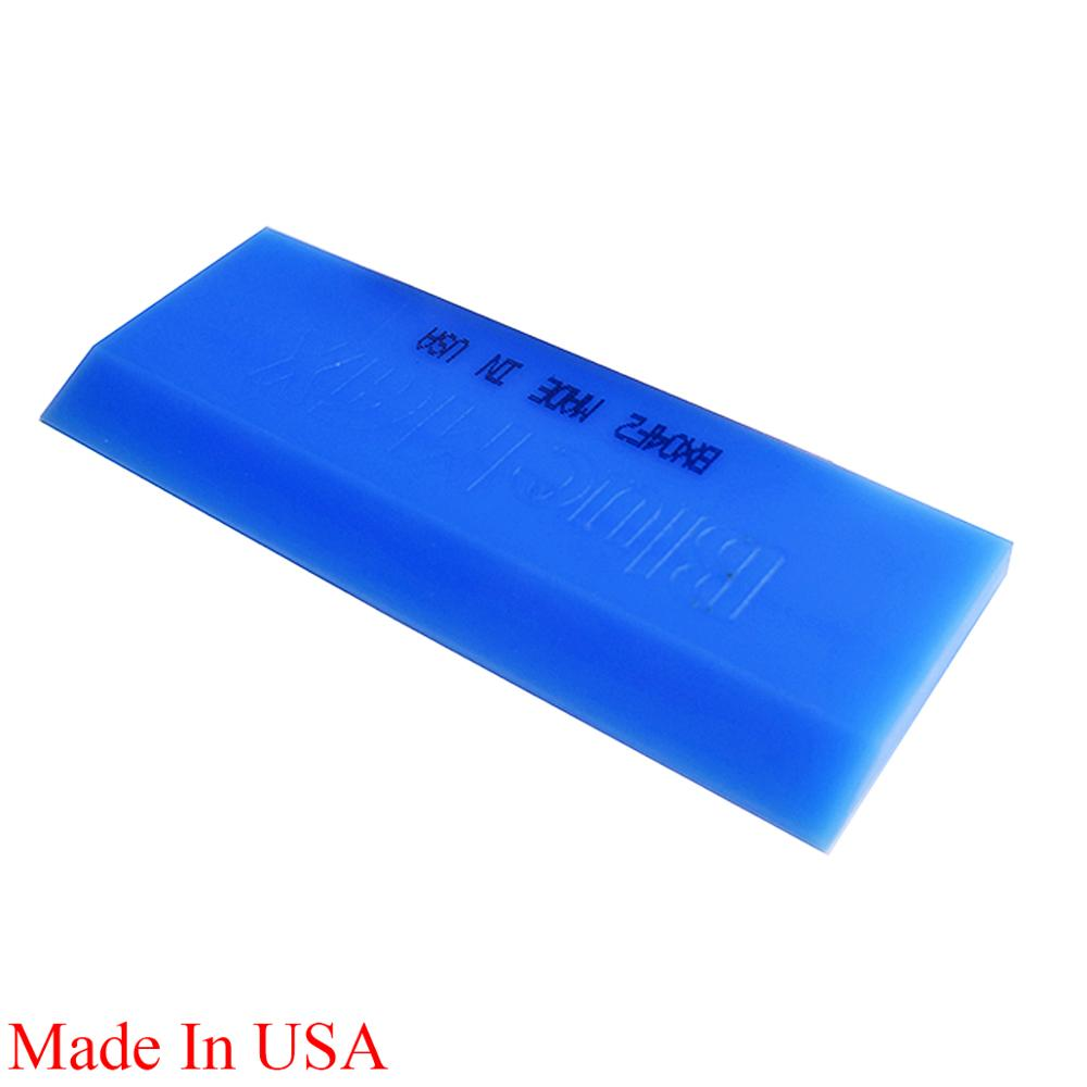 13*5cm BLUEMAX Rubber Scraper Window Squeegee Blade Glass Cleaner Vinyl Tint Tools Sticker Remover Car Cleaning Accessories B02