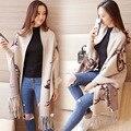 Зима форме крыла летучей мыши свитер женщин кисточкой печати женские пальто женские плащ женщины свитер шаль Пуловер женский пальто кардиган пончо