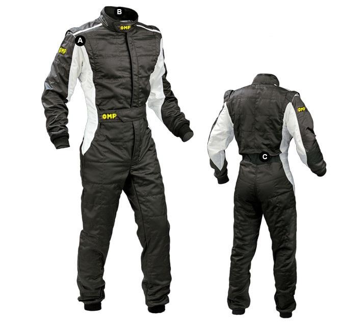 Quatre doubles costume de course de voiture et imperméable F1 course kart dérive sac de costume de course mail