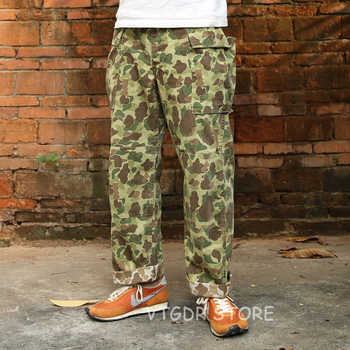 Bronson HBT Duck Hunter Camo Pants US Army Military Men Trousers Fatigue Uniform - DISCOUNT ITEM  40% OFF All Category
