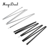 MagiDeal 2pcs Folding Outdoor Tent Tarp Poles Canopy Porch Poles Sun Sail Awning Support Rod Camping Accessories 1.7m/2m