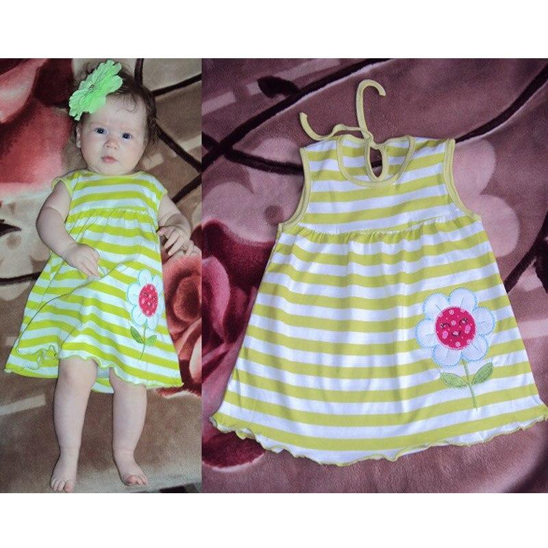 Girls Flower Lace Dress Princess Kids Baby Girls Sleeveless Dress Floral Tulle Party Wedding Dress Children Summer Sundress