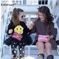 Kidonway Acolchoado Shinning Glitter Crianças Crossbody Bolsas para As Meninas Presentes Da Novidade Criança Bolsa Mini Messenger Bag Coin
