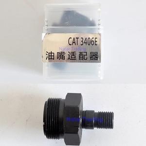 Image 3 - מסילה משותפת מזרק זרבובית מתאמים עבור חתול 3126B 3406E CUMMINS N14 וולוו מתאם, מסילה משותפת מזרק תיקון ערכות