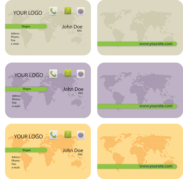 World map business cards templates with round corners matte white world map business cards templates with round corners matte white plastic card template y0006 in business cards from office school supplies on colourmoves