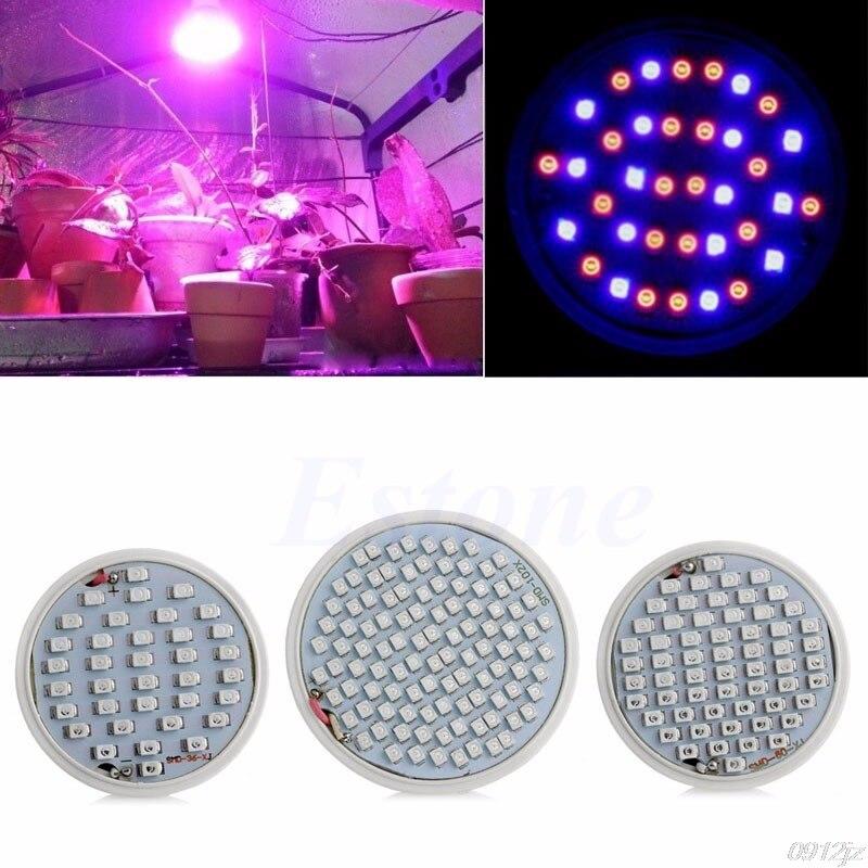 E27 Plant Grow Light Lamp Bulb Flower Veg Indoor Hydroponic Full Spectrum New Drop ship