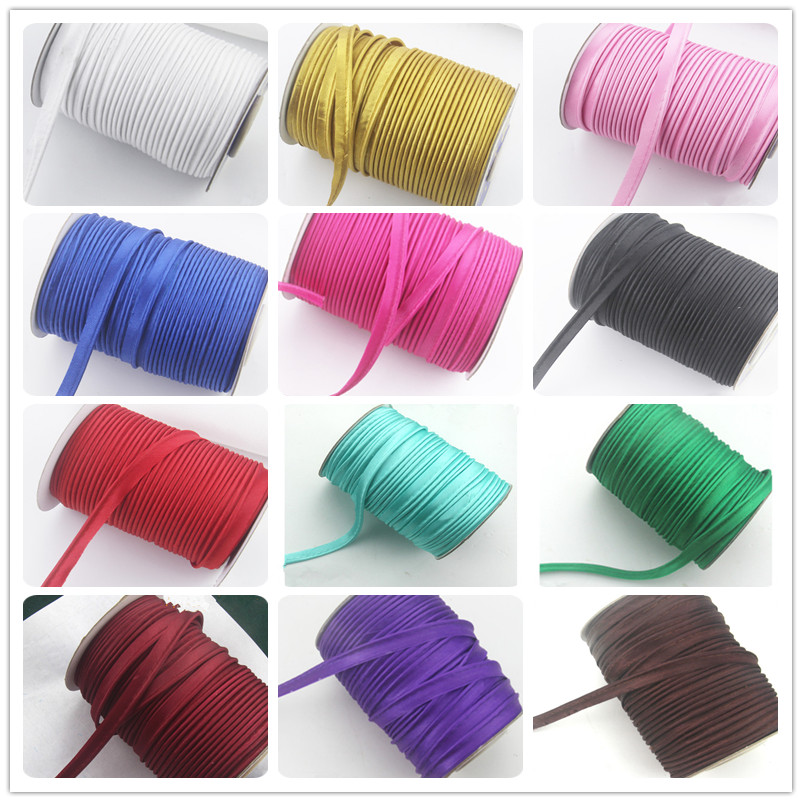 Aliexpress.com : Buy 10mm Polyester Satin Bias Cord Tape