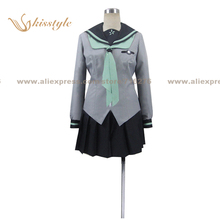 Kisstyle Fashion Seraph of the End Shinya Hiragi School Uniform COS Clothing Cosplay Costume,Customized Accepted