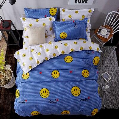 US $53.7 19% OFF New Lemon Bettwäschesatz Polyester Bettwäsche Bettbezug  Flache Tagesdecke Sets Heimtextilien Kinder Schlafzimmer Bett Set Juegos-in  ...