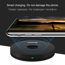 HOCO Fast Transmission Desktop Wireless Rapid Charger for iPhone X 8 8Plus Samsung S9 S8 S8Plus