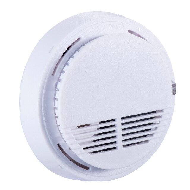 New Arrival Wireless Smoke Detector High Sensitive Fire Alarm Sensor For Home Security Photo Electric Fire Smoke Alarm