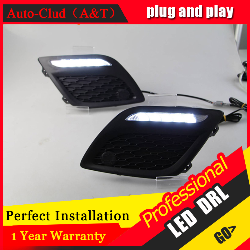 Auto Clud car styling For Volvo XC60 LED DRL XC60 High brightness guide LED DRL led fog lamps daytime running light B style auto clud car styling for toyota highlander led drl for highlander high brightness guide led drl led fog lamps daytime running l