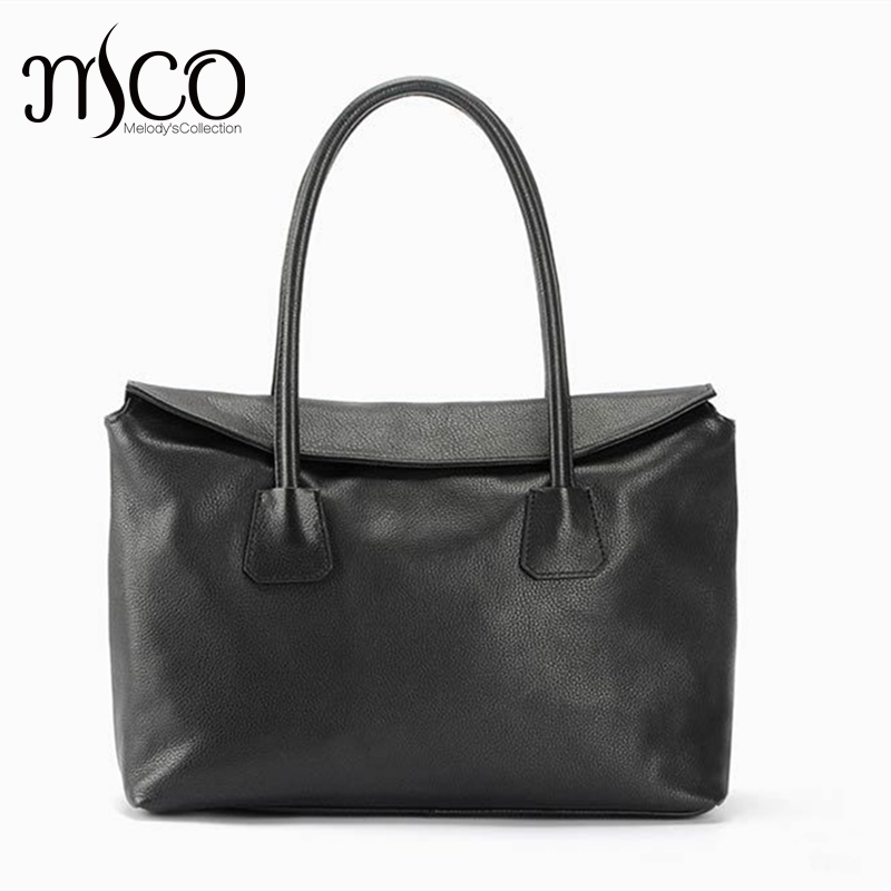 Women Leather Handbag Fashion Design Black Lady Bag Genuine Leather Womens Shoulder Bag Satchel Cross Body Casual Tote 2017 New солнцева н иди за мной