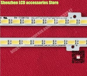 Image 2 - 2 יח\חבילה BN64 01639A 40 אינץ LCD תאורה אחורית מנורת UA40D5000PR bn64 01639a LTJ400HM03 2011SVS40 62LED 440MM שמאל וימין