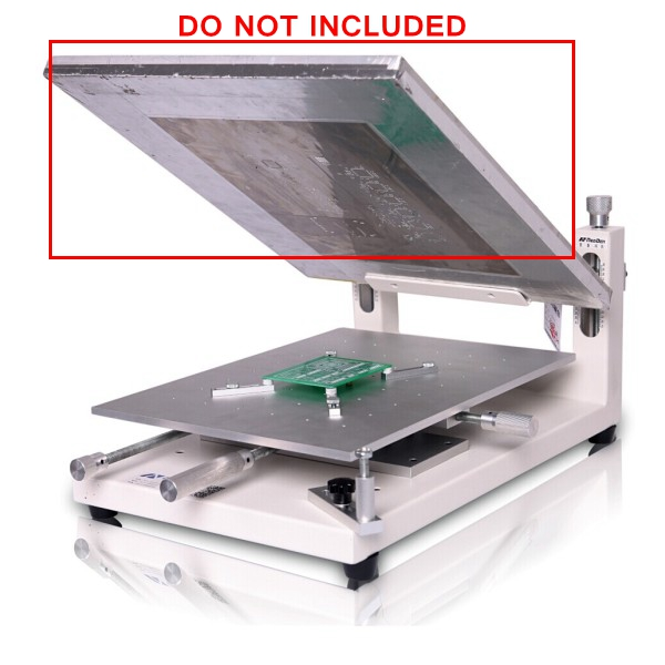 CGOLDENWALL 1pcs Steel Plate for Manual Ink Printing Machine