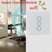Ue usa WiFi elektryczne rolety przełącznik dotykowy APP sterowania głosem przez Alexa Echo AC110 do 240V dla krańcowymi, rolety silnik