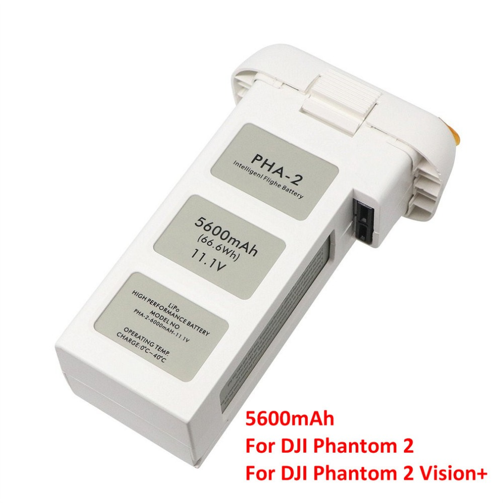 5600mAh Large Capacity Intelligent Flight Battery Drone Accessories For DJI Phantom 2 For DJI Phantom 2 Vision+ аккумулятор dji battery lipo 15 2v 4480 mah 4s for phantom 3