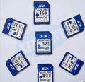 Free shipping 20pcs/lot bulk packing Full Capacity Class10 SDHC flash drive Memory card 8GB 16GB 32GB SDXC 64GB memory stick