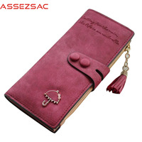 Assez Sac New Arrival Women Wallets Pu Leather Wallet Large Capacity ID Holders Fashion Ladies Purse