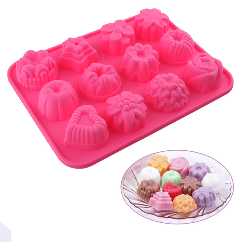 Cake decoration tools fondant silicone forms silicone cake mode baking baking tools for cake cookie cutter