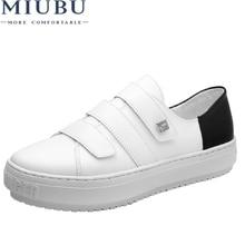 MIUBU Designer Summer Sneakers Women Causal Shoes White Basket Femme Flats Platform Creepers Zapatillas Deportivas Mujer