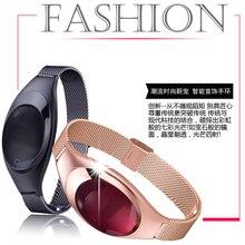 2017 Дамская Мода Smart Браслет Z18 IP67 Водонепроницаемый Bluetooth браслеты с 60 мАч Батарея на цена оптовой продажи