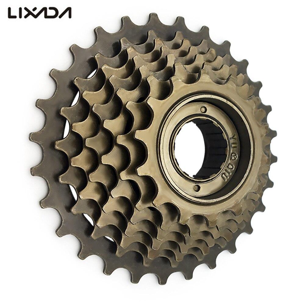 14-16-18-20-22-24-28T Teeth MTB Bike Freewheel 7 Speed Cassette Flywheel