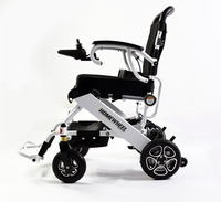 High Quality Safety Portable Electric Wheelchair With Motor