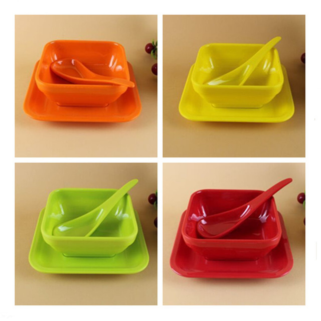 3pcs/set Melamine Dinnerware Set Children Bowl Dish/Plate Suit Kids Tableware  sc 1 st  AliExpress.com & 3pcs/set Melamine Dinnerware Set Children Bowl Dish/Plate Suit Kids ...