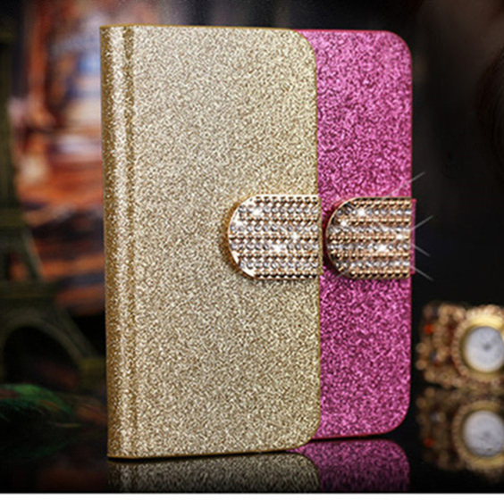 Luxury Wallet Leather Case For Samsung Galaxy Ace 2 i8160 8160 Fundas Phone Cover Flip Stand Capa Coque with Card Slot