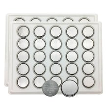 MJKAA 50PCS 2032 Battery CR2032 Button Cell Batteries DL2032 KCR2032 5004LC ECR2032(0